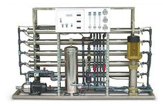 Reverse Osmosis System Types See more: http://www.reverseosmosisguides.com/reverse-osmosis-system-types/ Reverse osmosis as a method of desalinating numbers was developed in the late 1950's. It is a process of separating dissolved liquids from water using a pressurized system. To put it more succinctly, it is a method of applying pressure to push clean water through open pores of a membrane while trapping other bigger molecules that contaminate water.