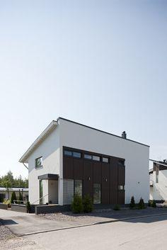 Kivitalon tyylikäs julkisivu, lisää ideoita www.lammi-kivitalot.fi