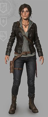 Rise of the Tomb Raider - Leather Jacket outfit Lara Croft Outfit, Lara Croft Costume, Lara Croft Cosplay, Tomb Raider Outfits, Couples Cosplay, Cosplay Ideas, Laura Croft, Tomb Raider Lara Croft, Rise Of The Tomb