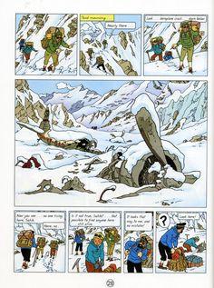 Tintin in Tibet - one of my favorite books