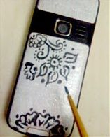 Totally Tutorials: Tutorial - How to Make a Painted Cell Phone Case