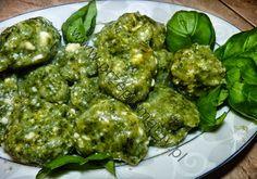 www.przepismamy.pl: Gnocchi serowe ze szpinakiem