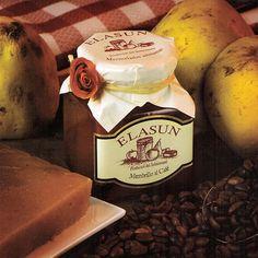 Mermelada Elasun - Membrillo al Café - 350 g.