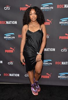 Roc Nation Grammy Brunch 2015 - SZA Supporter