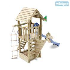 Unique Speeltoestel Captain Blue met glijbaan Speeltoestellen Wickey be