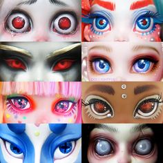 16 Ideas doll eyes anime for 2019 Custom Monster High Dolls, Monster High Repaint, Custom Dolls, Pretty Dolls, Beautiful Dolls, Ooak Dolls, Art Dolls, Character Art, Character Design