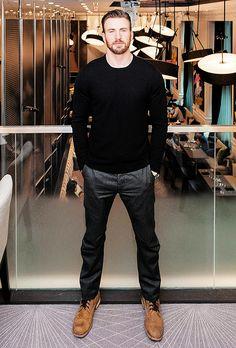 Chris Evans, Toronto International Film Festival, Sept. 5, 2014