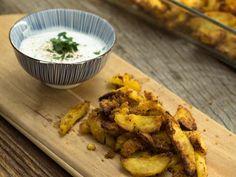 Knusprige Knoblauch-Kartoffeln