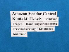 10 Tipps und Hinweise, wie Sie mit auftretenden Fragen und Problemen während Ihrer Geschäftsbeziehung mit Amazon mithilfe des Amazon-Ticketsystems Kontaktieren-Sie-uns (Contact Us) am Besten umgehen können.