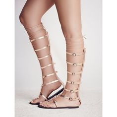 823d3a227bb Vegan Jayden Gladiator ( 185) ❤ liked on Polyvore featuring shoes