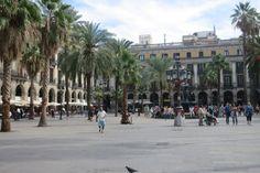 Squares in Barcelona