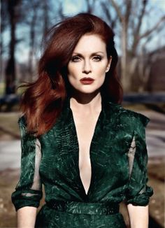 Julianne Moore ​Emerald Green