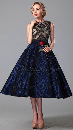[USD 112.65] eDressit Vintage Sleeveless Cocktail Dress Party Dress (04151305)