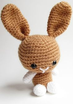 {Amigurumi Bunny and Teddy Bear}