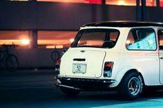 Austin Mini with a Classic Mini, Classic Cars, Old School Cars, Mini Cooper S, Modified Cars, Mk1, Mini Me, Car Photos, Motor Car
