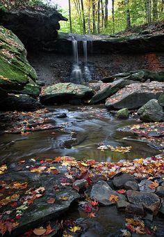 """Blue Hen Falls"" Cuyahoga Valley National Park. Dale-Kincaid.arti..."