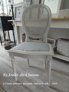 chaises anciennes stylelouisxv revisit es pour un esprit maison de famille dans l 39 air du. Black Bedroom Furniture Sets. Home Design Ideas