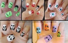 Halloween nail ideas ★