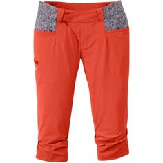 Performance capris - option 2 with stretchy waist and fabric pockets