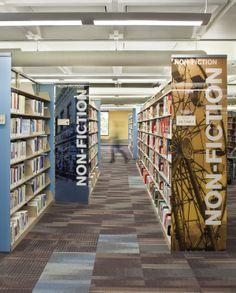 louis poulsen - moser sam gary branch library | oz architecture