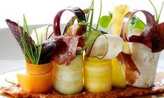 Ensalada de vegetales. Emplatados de ensaladas que te van a sorprender / Salads plating.