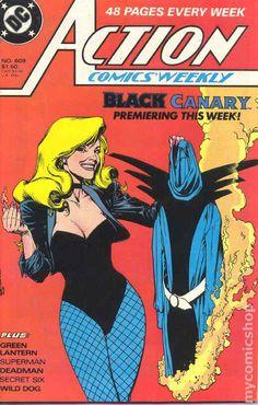 Action Comics (1938 DC) 609 Black Canary