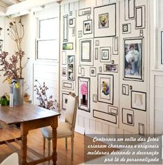 Casa Bellissimo blog Mural de fotos Decoração com fotos dicas de fotografia nas paredes decor