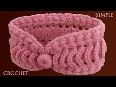Crochet Quilt, Easy Crochet, Crochet Baby, Knit Crochet, Crochet Hair Accessories, Crochet Hair Styles, Flower Patterns, Crochet Patterns, Crochet Headband Pattern