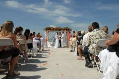 Beach Wedding - Fort Myers Beach, FL