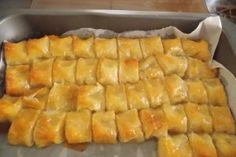 2825-to-gliko-tis-tempelas-by-vaso2519 Greek Sweets, Greek Desserts, Greek Recipes, Pastry Recipes, Sweets Recipes, Cooking Recipes, Vegan Recipes, Egg Free Desserts, Easy Desserts