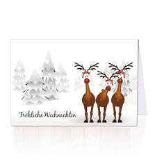 lustige weihnachtskarten oh tannenbaum bestellen. Black Bedroom Furniture Sets. Home Design Ideas