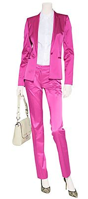 STYLEBOP.com | Bright Pink Hinass-4 Pants by HUGO | the latest trends from the capitals of the world