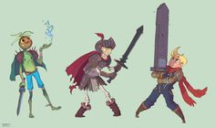 Different sizes of swords. Just character drawings for fun!  ★    CHARACTER DESIGN REFERENCES (https://www.facebook.com/CharacterDesignReferences & https://www.pinterest.com/characterdesigh) • Love Character Design? Join the #CDChallenge (link→ https://www.facebook.com/groups/CharacterDesignChallenge) Share your unique vision of a theme, promote your art in a community of over 30.000 artists!    ★