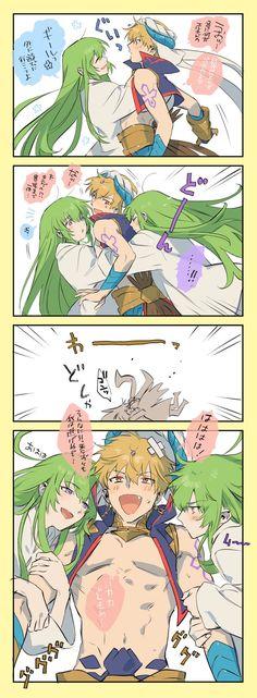 Gilgamesh And Enkidu, Gilgamesh Fate, Amagi Brilliant Park, Disney Games, Fate Stay Night Anime, Fate Servants, Fate Anime Series, Anime Drawings Sketches, Fate Zero
