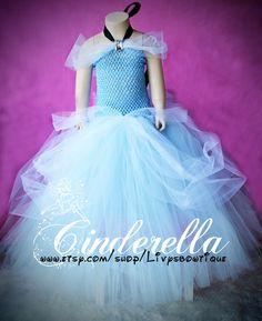 Pre Order Cinderella tutu dress. Gorgeous, perfect for Birthday's, Halloween or Dress up. Newborn-6t