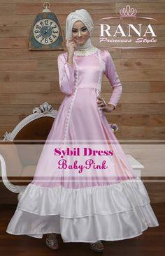 Sybil Dress Coklat Susu2 Gamis Modern Terbaru 2015 Pinterest