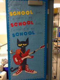 Pete the Cat! & Pete the Cat classroom door decoration | Teaching | Pinterest ...