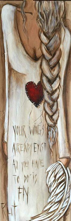 Angel in braids