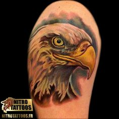 tatouage de aigle #tatouage #tatouages #tattoos #tattoo #nitrotattoos
