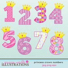 Princess Crown Numbers