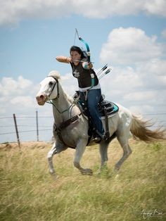 Mounted archery: Bows are Even Better On Horseback (well DUH)