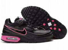 7518a99ecf9 Chaussures Nike Air Classic BW Noir  Rose -   Nike Chaussure Pas Cher