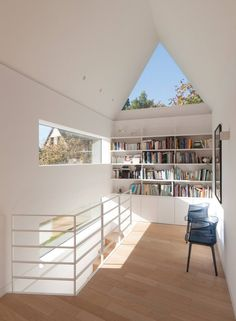 Situated in Saint-Cast-le-Guildo, France, Feld Architecture designed an inspiring house extension. Hotel Room Design, Villa, Arched Doors, Huge Windows, Home Libraries, House Extensions, Other Rooms, Home Renovation, Architecture Design