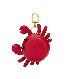 Tory Burch Carl The Crab Pouch Key Fob