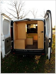 trafic renault fourgon am nag loisirs banquette couchette camping car pinterest fourgon. Black Bedroom Furniture Sets. Home Design Ideas