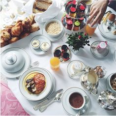 Room service breakfast at @plazaathenee captured by @zoemacaron #dcmoments