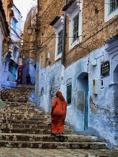 """""""Perhaps travel cannot prevent bigotry, but by demonstrating that all peoples cry, laugh, eat, worry, and die, it can introduce the idea that if we try and understand each other, we may even become friends"""" - CHAOUEN, MOROCCO"""