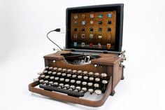 USB Typewriter Machine à écrire connectée !!