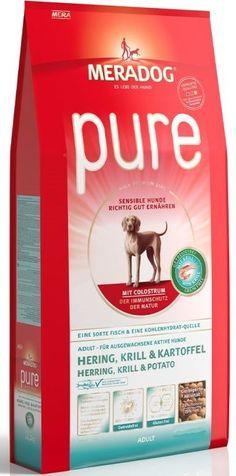 Meradog Pure Ρέγγα Γαρίδα Πατάτα 4kg, Sport n Dog Pisces