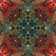 Artisan Made Satin Textile Fabric By The Yard Fiber Art Marble Fabric Radiant Kaleidoscope by jacquedesigns on Etsy